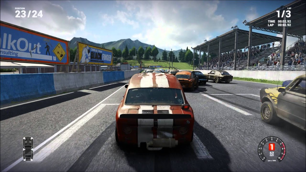 pc racing game to practice manual shift