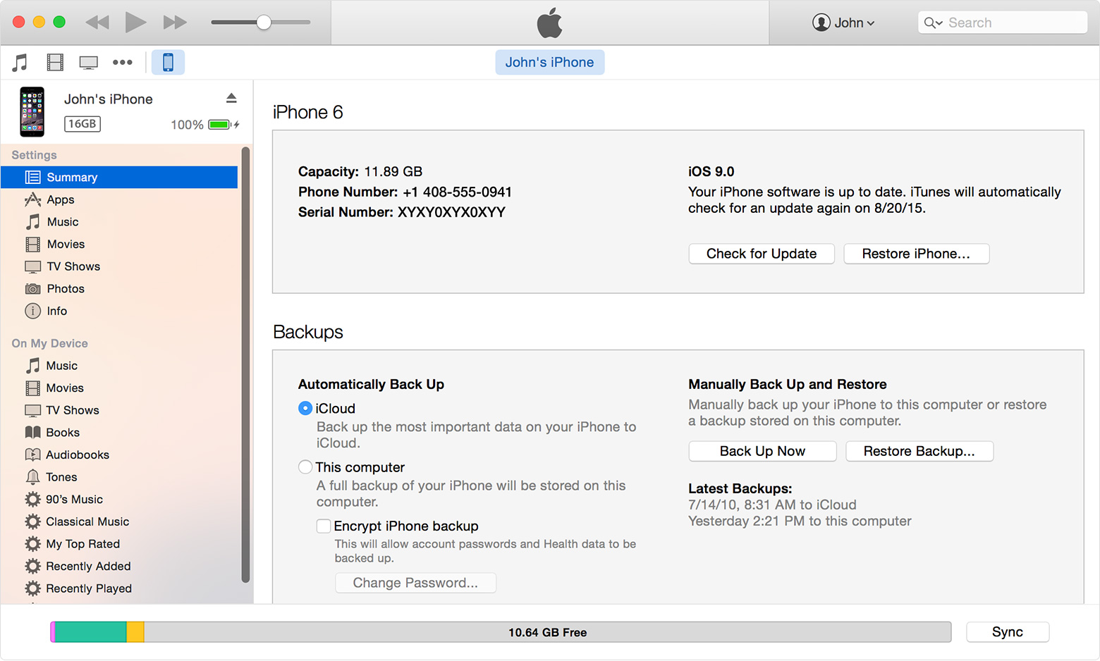 manually transfer itunes library to new mac