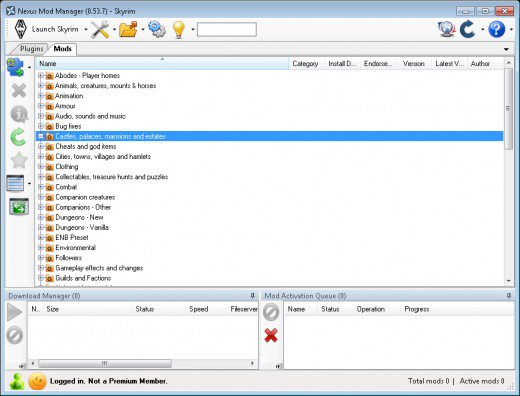 how to install manually downloaded mods in nmm