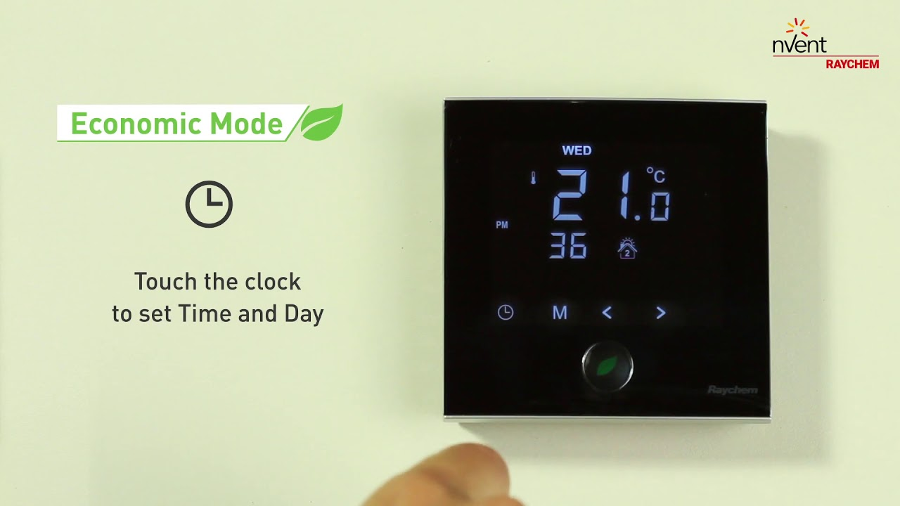 program manual for green heating thermostat