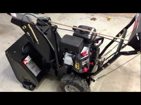 owners manual for craftsman sno tek snow blower