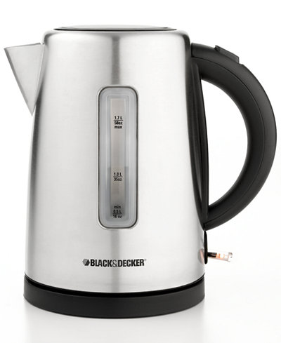 black and decker stainless steel coffee maker manual