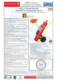 flag fire extinguisher service manual