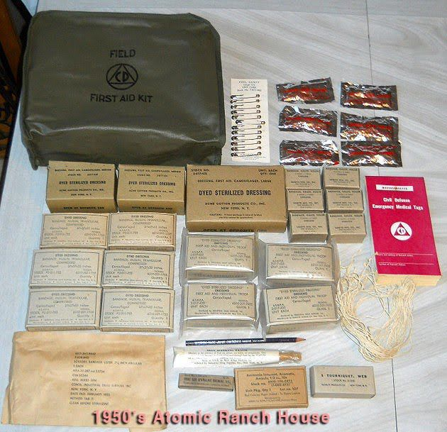 red cross first aid kit manual