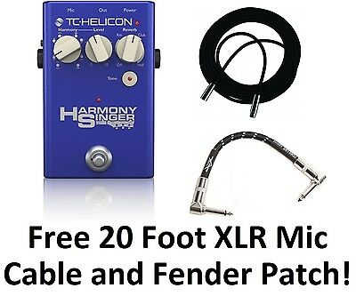 tc helicon harmony singer effects pedal manual